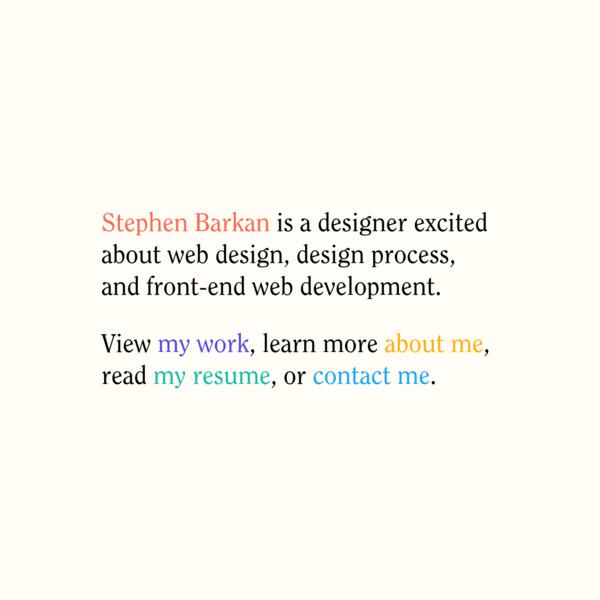 Stephen Barkan