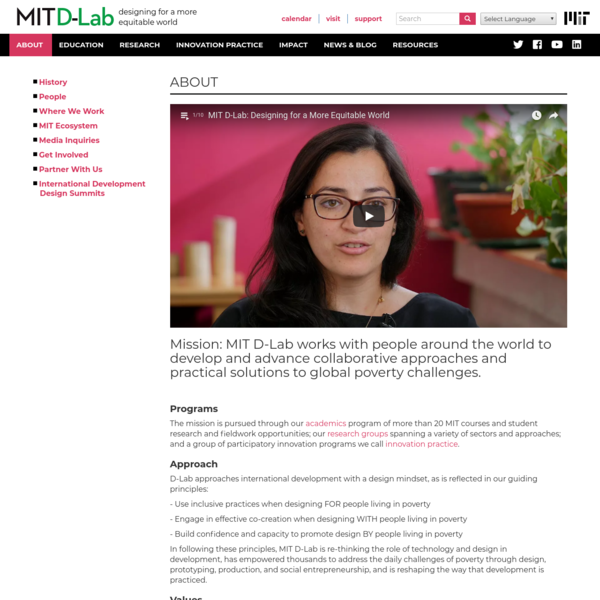 ABOUT | MIT D-Lab