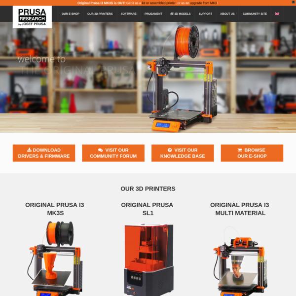 Prusa3D - 3D Printers from Josef Prusa