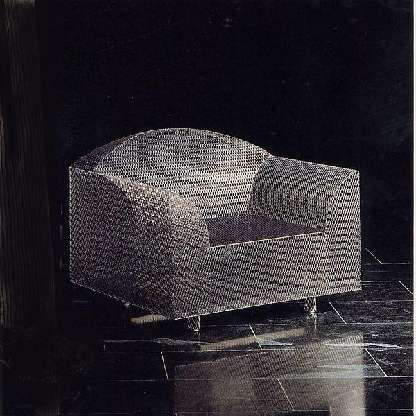 """How High the Moon"" Armchair, 1986 l Shiro Kuramata"