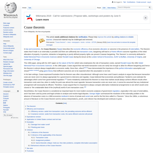 Coase theorem - Wikipedia