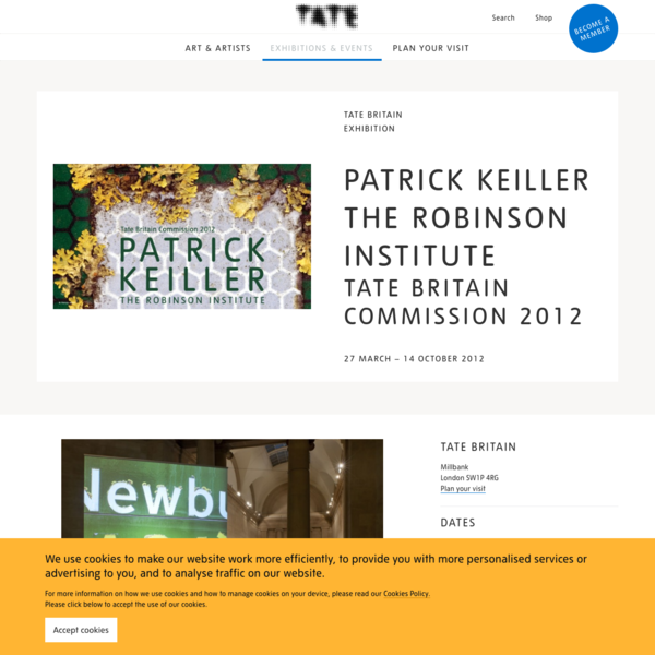 Patrick Keiller The Robinson Institute: Tate Britain Commission 2012 - Exhibition at Tate Britain | Tate