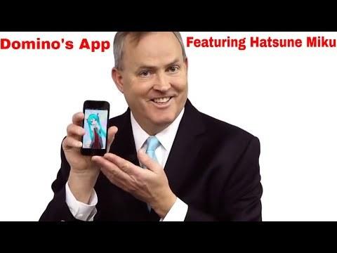 Domino's App Feat Hatsune Miku [ ORIGINAL FULL VIDEO ]