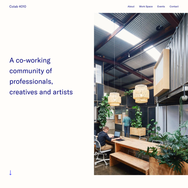 Colab 4010 | A co-working community of professionals, creatives and artists