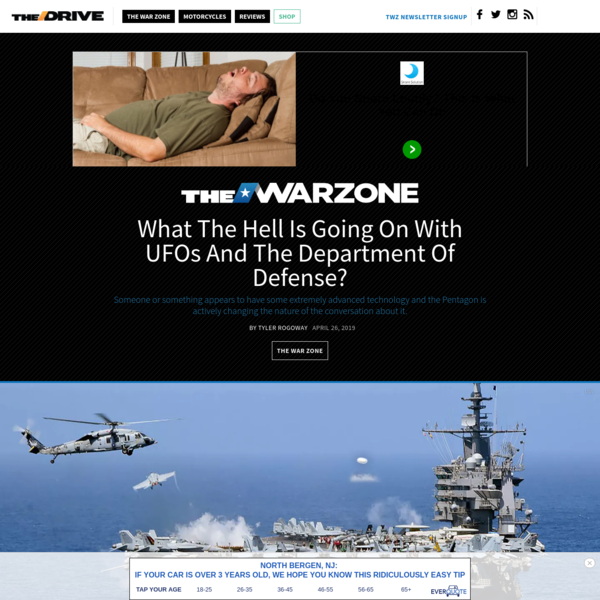 What The Hell Is Going On With UFOs And The Department Of Defense?