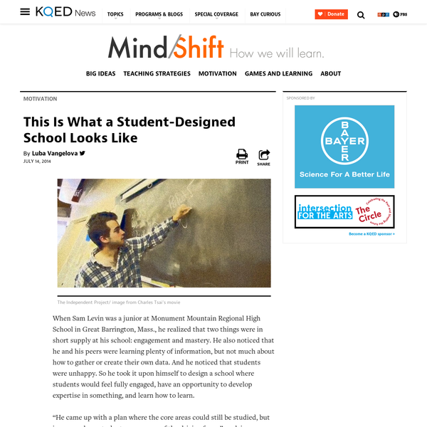 This Is What a Student-Designed School Looks Like