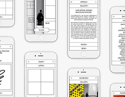 Gothenburg Design Festival Website