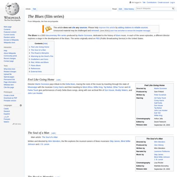 The Blues (film series) - Wikipedia