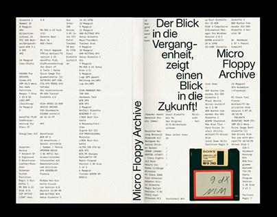 Micro Floppy Archive