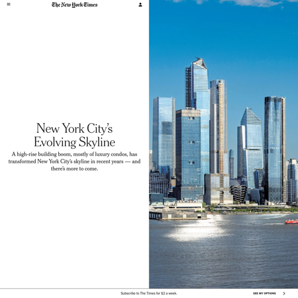 New York City's Evolving Skyline