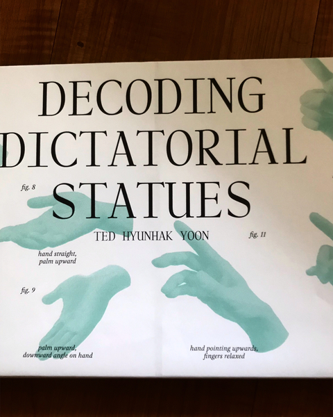 Decoding dictatorial statues