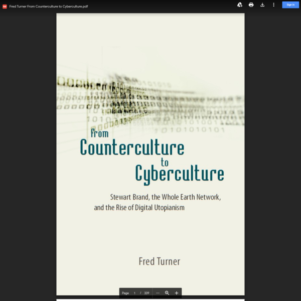 Fred Turner From Counterculture to Cyberculture.pdf