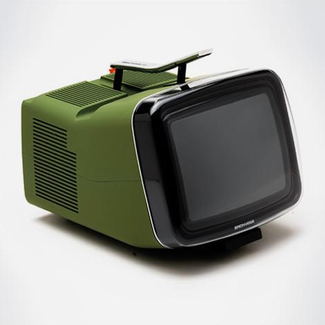 brionvega  algol tv  television  (1964) by marco zanuso  & richard sapper