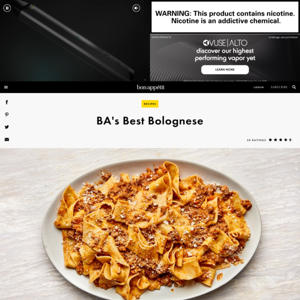 Best Bolognese Recipe   Bon Appetit