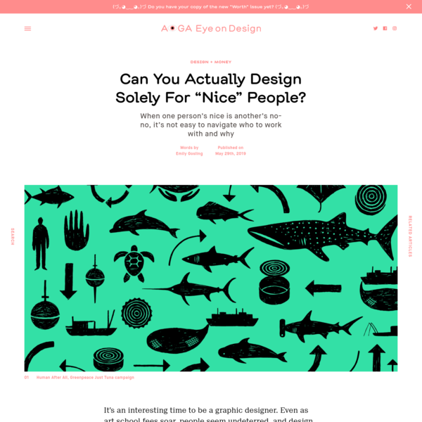 "Can You Actually Design Solely For ""Nice"" People? 