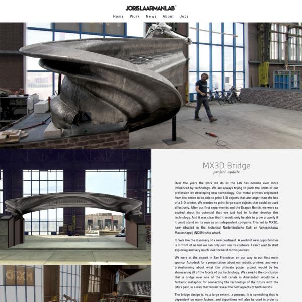 MX3D Bridge - Joris Laarman