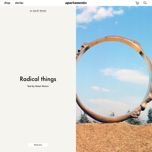 Stories - Apartamento Magazine