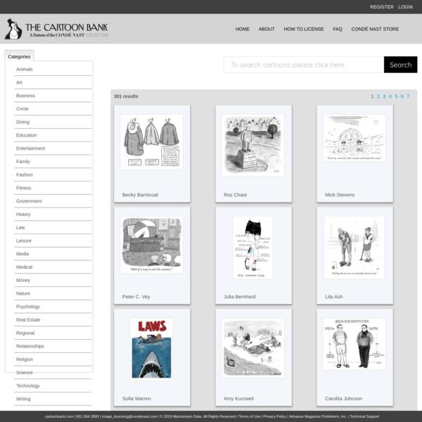 Search - cartoonbank.mainstreamdata.com
