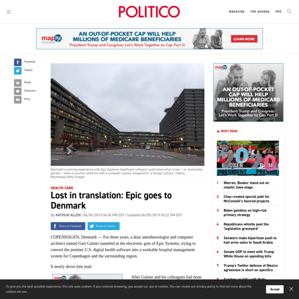 Lost in translation: Epic goes to Denmark - POLITICO