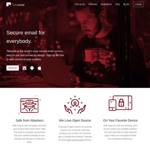 Secure email: Tutanota makes free encrypted emails easy.