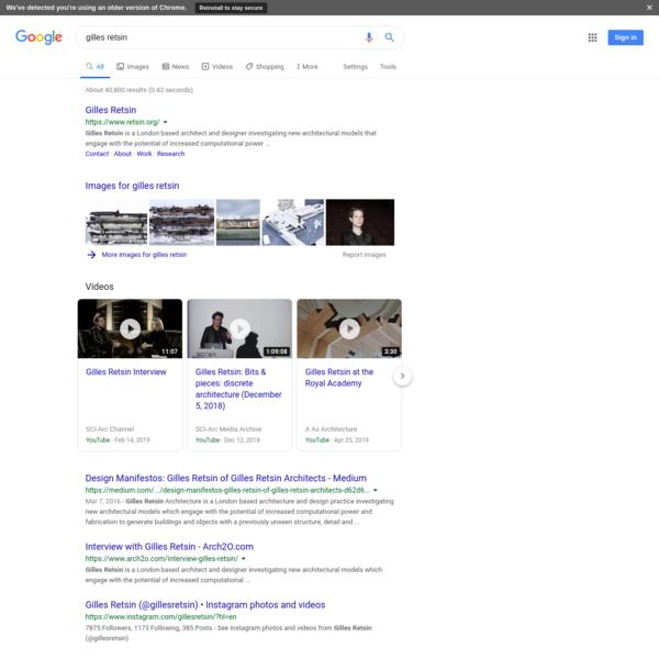 gilles retsin - Google Search