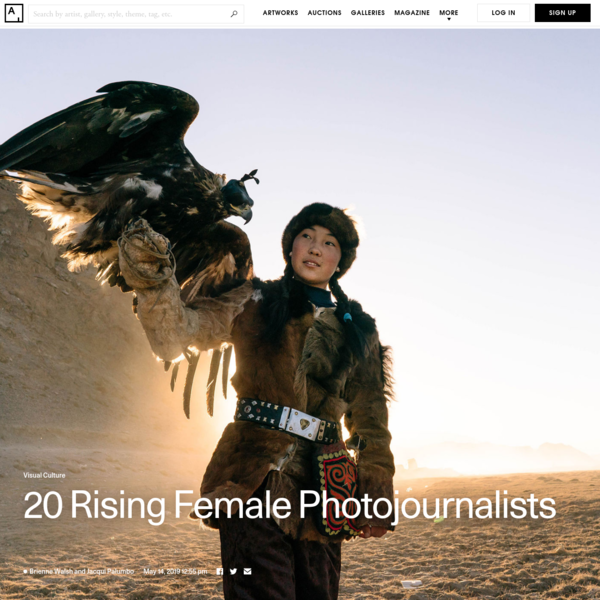 These 20 Women Are the New Faces of Photojournalism