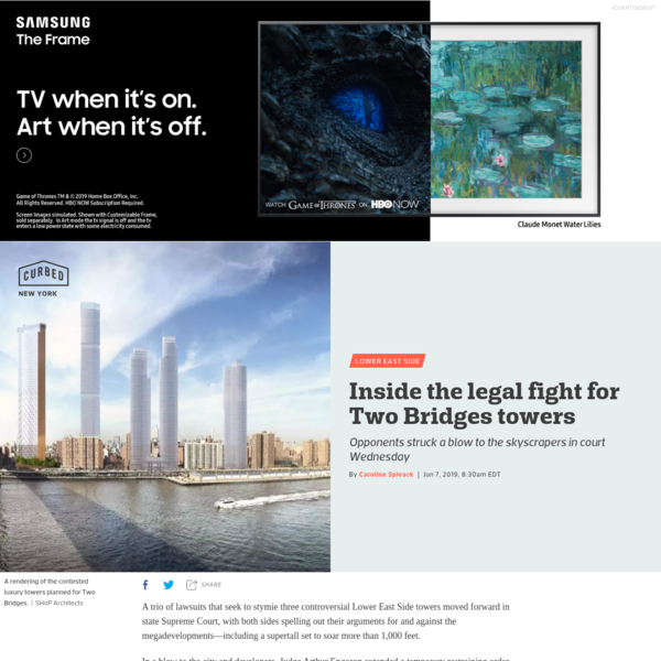 Inside the legal fight for Two Bridges towers