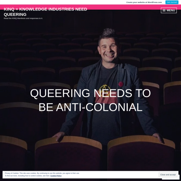 Queering needs to be anti-colonial – KINQ Manifesto Response