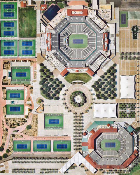 """The Indian Wells Tennis Garden is a 29-court complex located on 88 acres (360,000 sq. m) near Palm Springs, California. Its 16,000-capacity ""Stadium 1"" is the second largest outdoor tennis stadium in the world. Every year, the complex hosts the Indian Wells Masters, also known as the BNP Paribas Open — the best-attended tennis tournament outside of the four Grand Slam tournaments."""