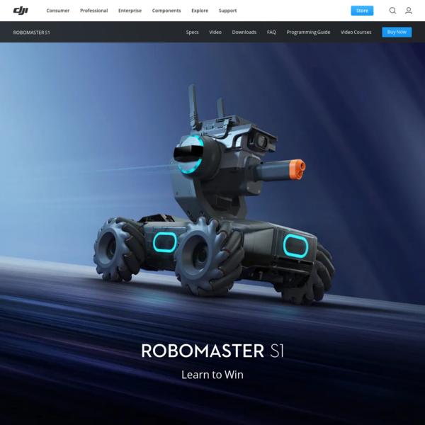 The RoboMaster S1 - Intelligent Educational Robot - DJI