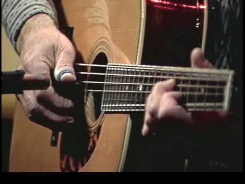 """Doc Watson performs """"Deep River Blues"""" in the DVD """"Doc's Guitar: Fingerpicking & Flatpicking"""""""
