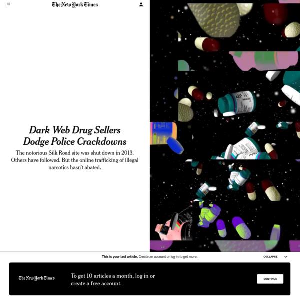 Dark Web Drug Sellers Dodge Police Crackdowns