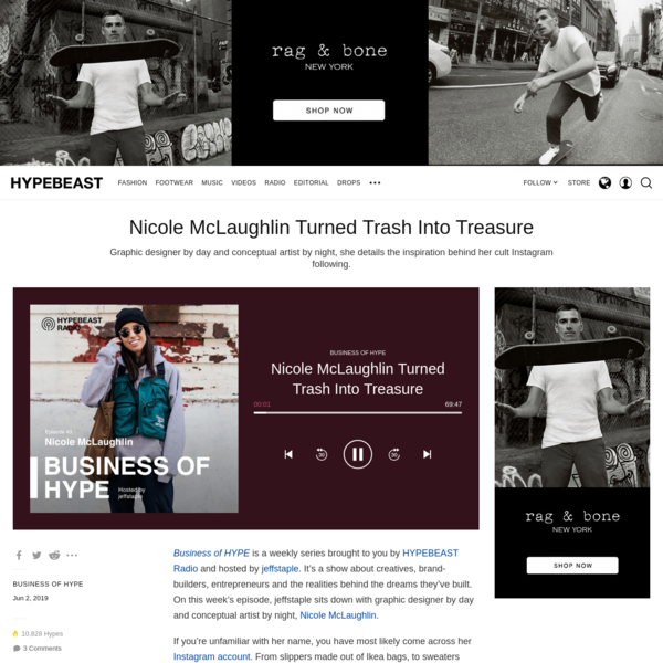Nicole McLaughlin Turned Trash Into Treasure