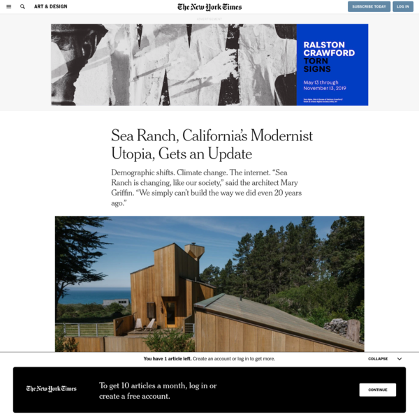 Sea Ranch, California's Modernist Utopia, Gets an Update
