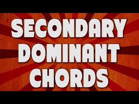 Secondary Dominants- Write Better Chord Progressions! [MUSIC THEORY / SONGWRITING]