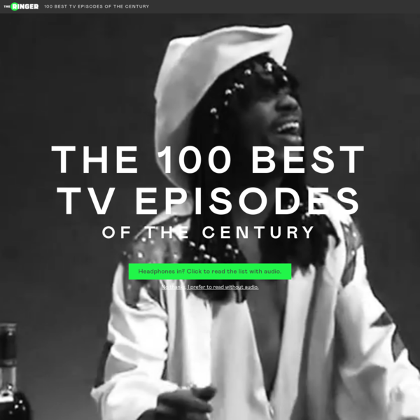 The Ringer's 100 Best TV Episodes of The Century