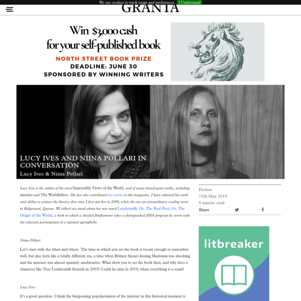 Lucy Ives and Niina Pollari In Conversation | Granta