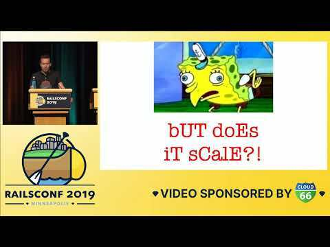 RailsConf 2019 - Opening Keynote by David Heinemeier Hansson