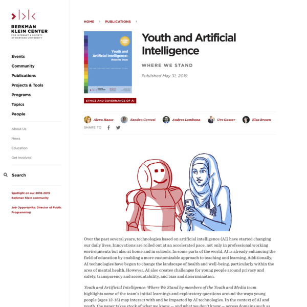 Youth and Artificial Intelligence
