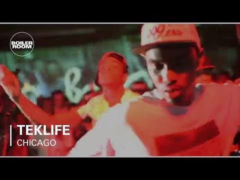 Teklife [Rashad, Spinn, RP Boo, Manny] Ray-Ban x Boiler Room 002 | Pitchfork Festival Afterparty