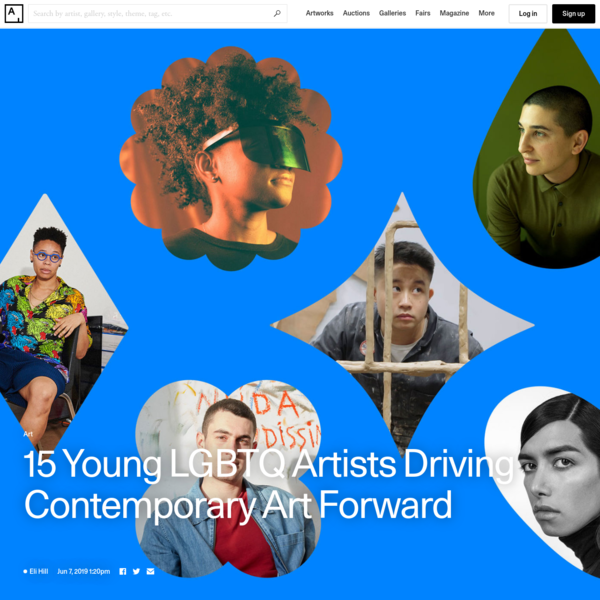 15 Young LGBTQ Artists Driving Contemporary Art Forward