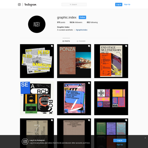 Graphic Index (@graphic.index) * Instagram photos and videos