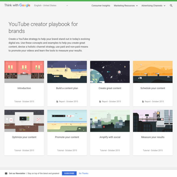 Create a YouTube strategy with the creator playbook - Think with Google