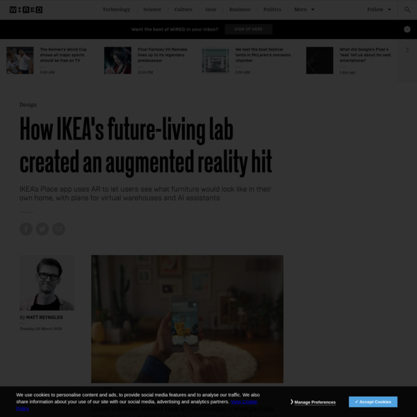 How IKEA's future-living lab created an augmented reality hit