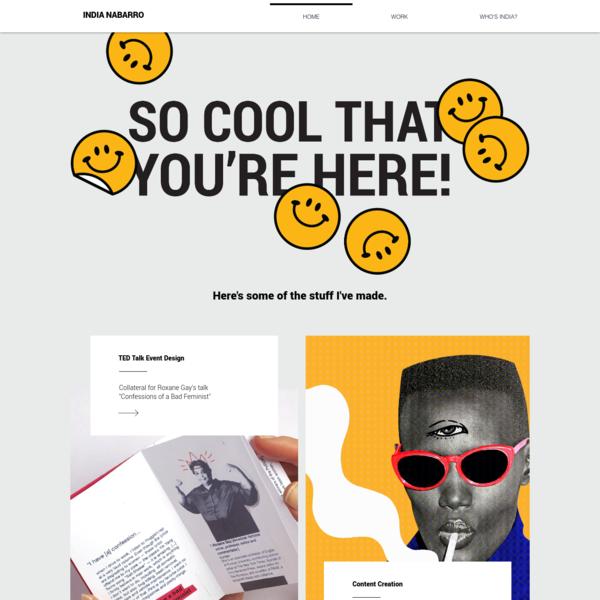 India Nabarro | Graphic Design and Stuff