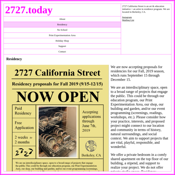2727 California Street | Residency