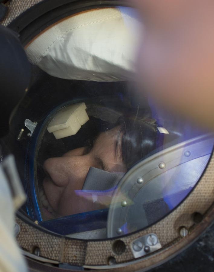 Back on Earth! Credits: ESA-S. Corvaja