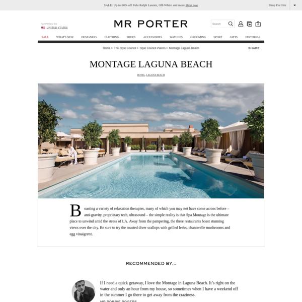 Montage Laguna Beach   The Style Council