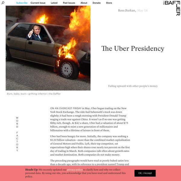 The Uber Presidency | Ross Barkan
