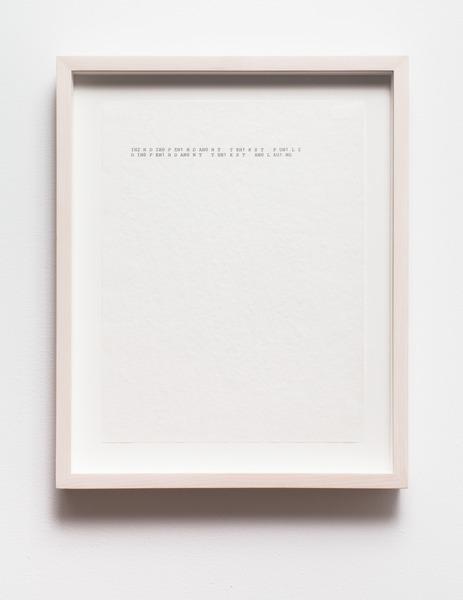 Damon Zucconi, Corrasable, 2013